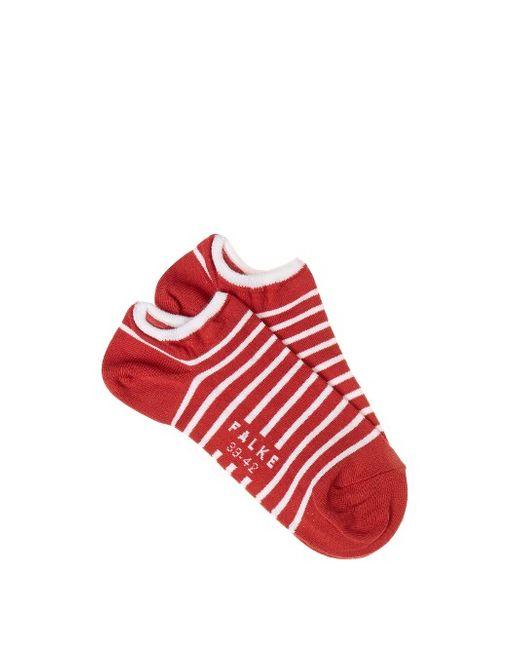 Falke | Красный Striped Trainer Socks