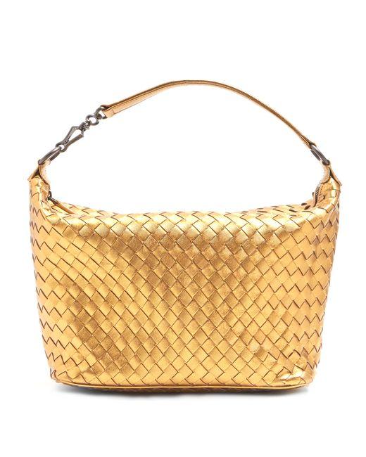 Bottega Veneta | Женское Золотой Intrecciato Leather Shoulder Bag