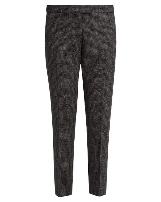 Joseph | Серый Finley Prince Of Wales-Checked Wool Trousers