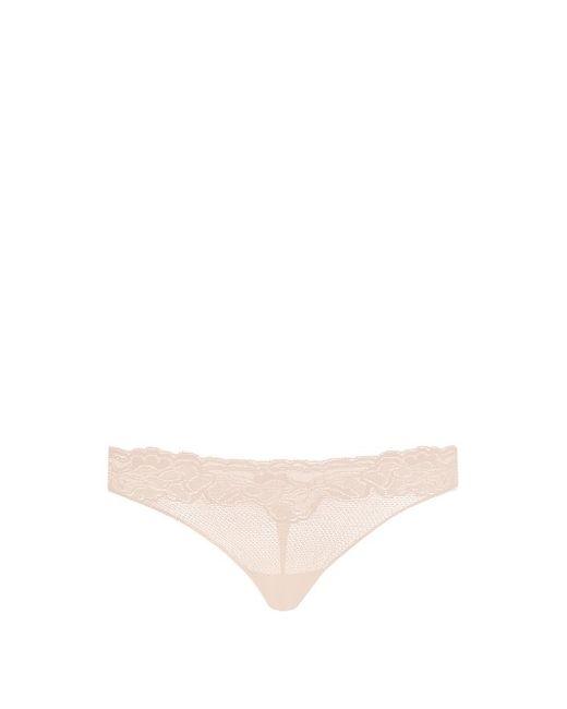 Hanro | Розовый Lulu Lace Thong
