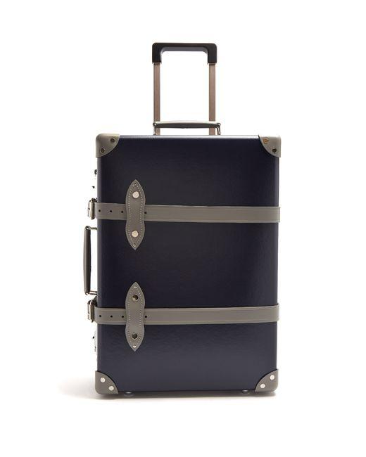 Globe-Trotter | Navy Multi X .Com Centenary 20 Suitcase
