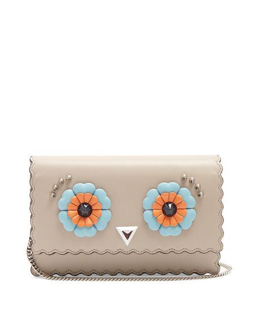 Fendi | Женское Серый Hypnoteyes Leather Cross-Body Bag