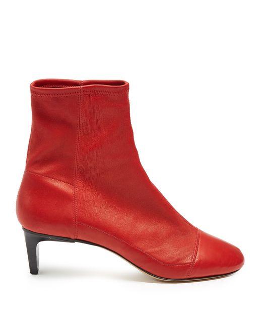 Isabel Marant | Женское Красный Daevel Suede Ankle Boots