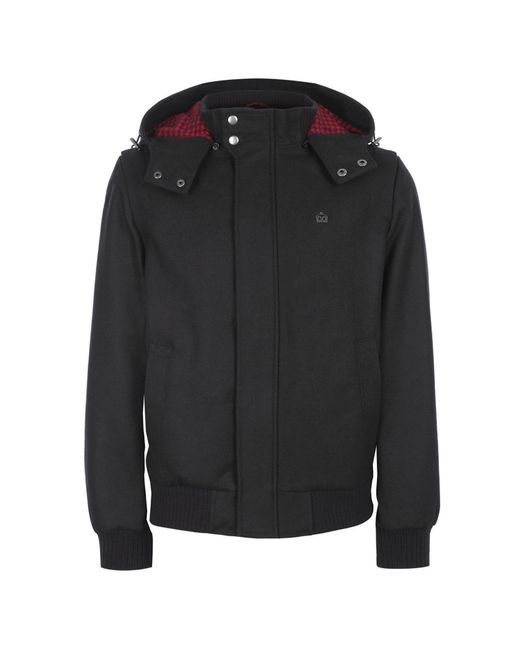 Merc London   Мужская Чёрная Куртка Baron