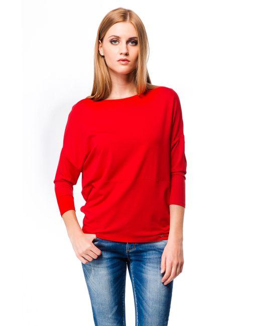 Mondigo | Женская Красная Блузка 7073
