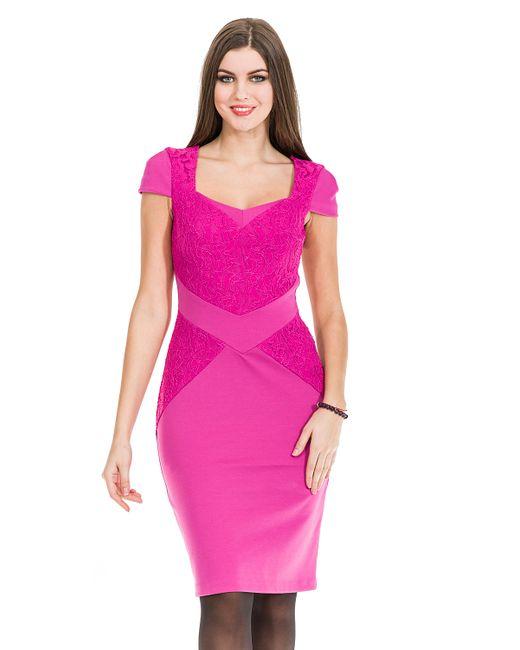 Mondigo | Женское Фуксия Платье 5179