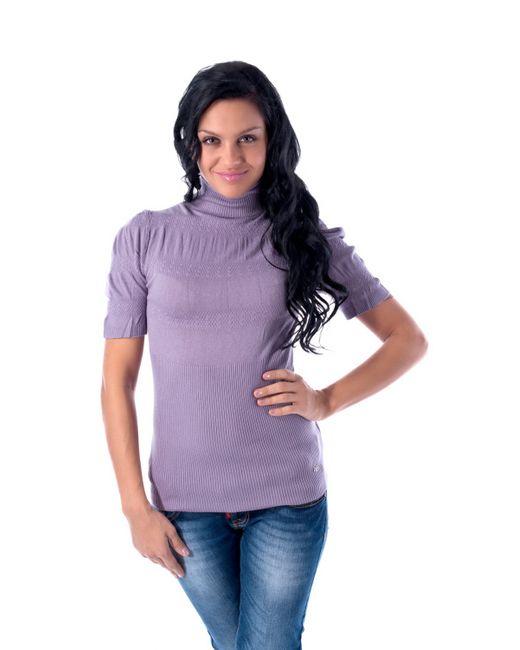 Mondigo   Женский Фиолетовый Свитер 9449