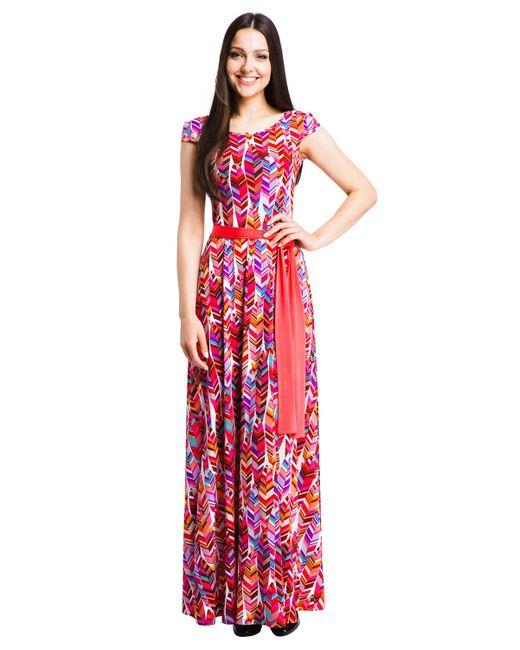 Mondigo | Женское Розовое Платье 7062-3