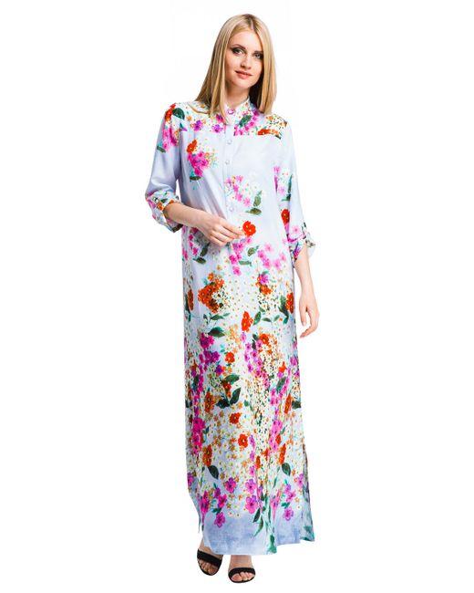 Mondigo | Женское Фиолетовое Платье 25225