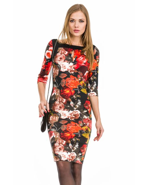 Mondigo   Женское Чёрное Платье 5129