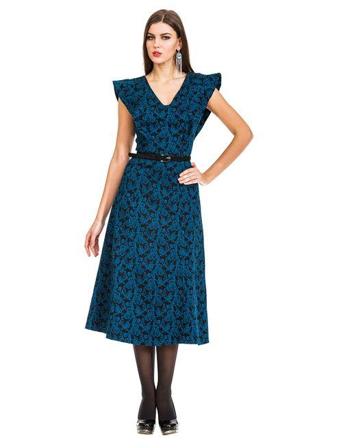 Mondigo | Женское Чёрное Платье 5182