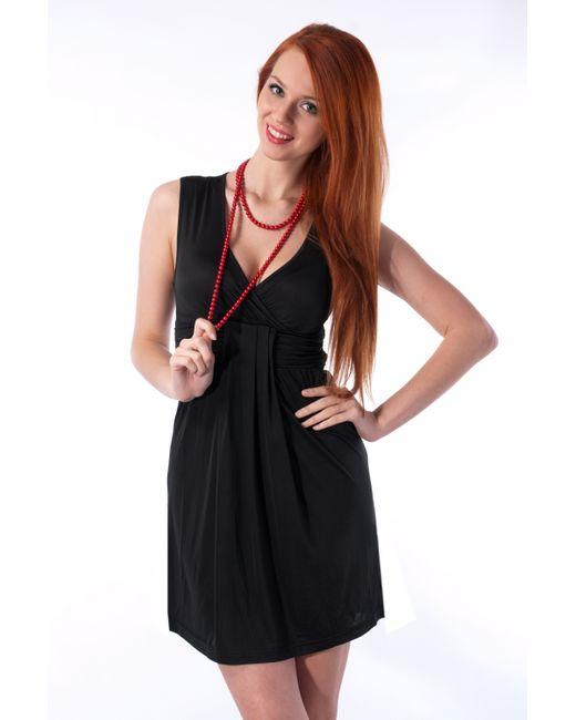 Mondigo | Женское Чёрное Платье 8607