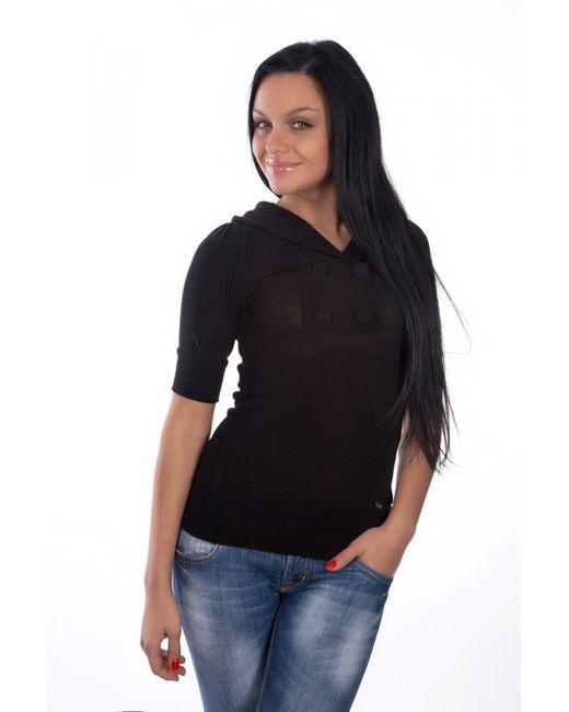 Mondigo | Женская Чёрная Кофточка 9917