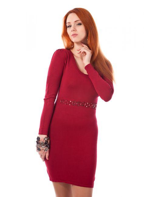 Mondigo | Женское Красное Платье 9766