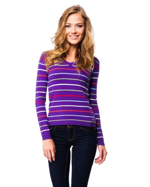 Mondigo | Женский Фиолетовый Джемпер 9417