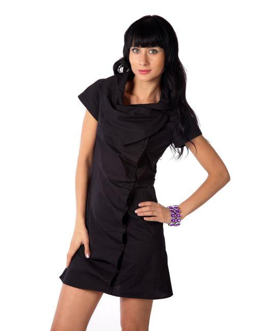 Mondigo | Женская Чёрная Блузка 9626