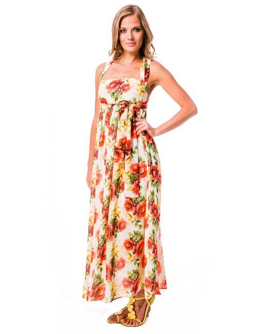 Mondigo | Женское Розовое Платье 5103