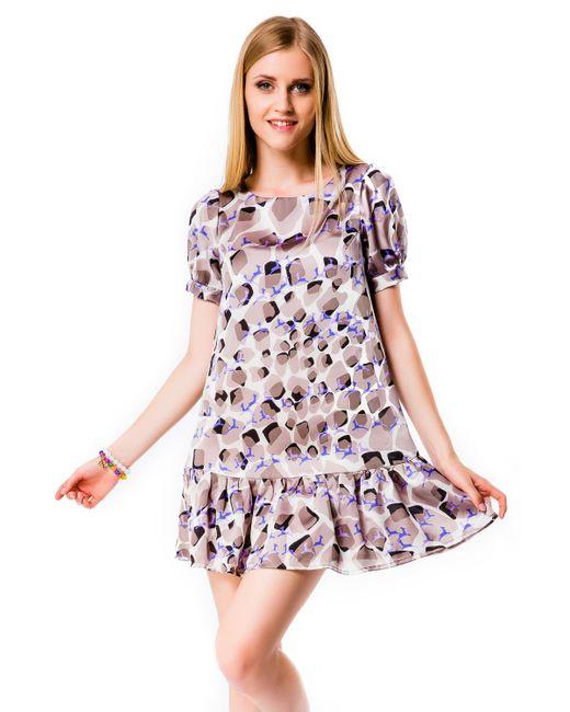 Mondigo   Женское Какао Платье 5106