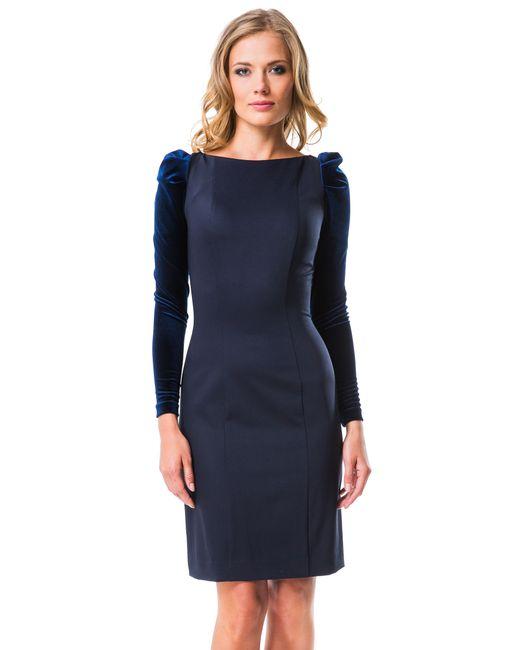 Mondigo | Женское Синее Платье 5071