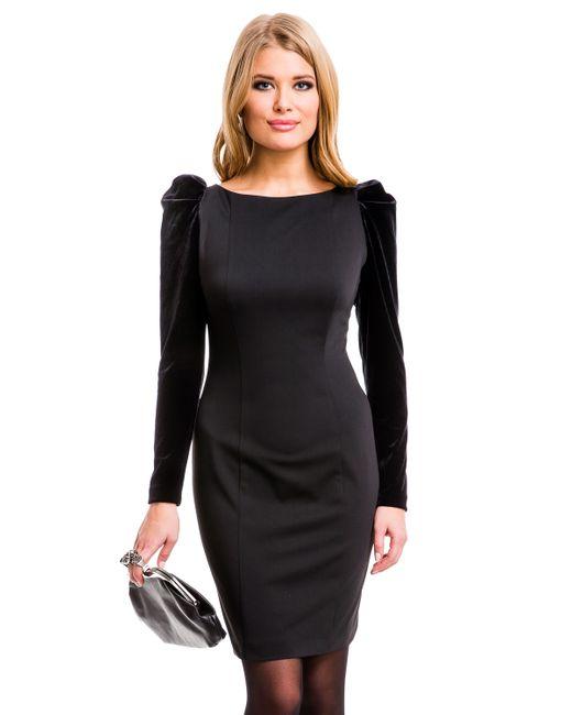 Mondigo   Женское Чёрное Платье 5071