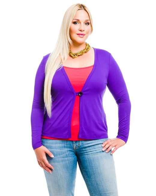 Mondigo | Женский Фиолетовый Жакет Xl 426