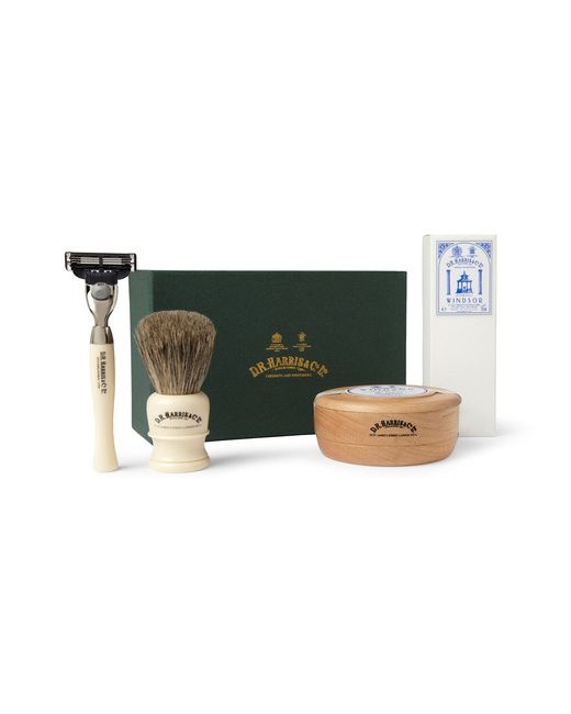 D R Harris | Белый Windsor Shaving Kit