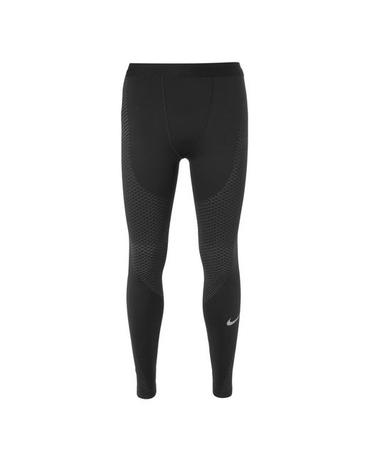 Nike Running | Чёрный Zonal Strength Stretch-Jersey Running Tights