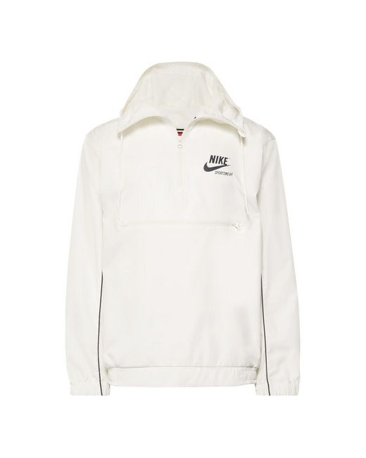 19d9efb84c7a Мужское Белый Archive Printed Shell Hooded Jacket Nike 12596902218