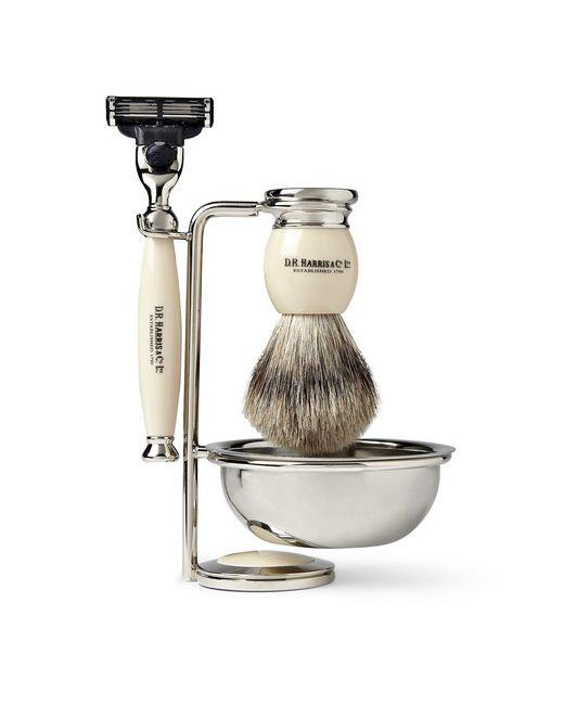 D R Harris | Cream Four Piece Shaving Set