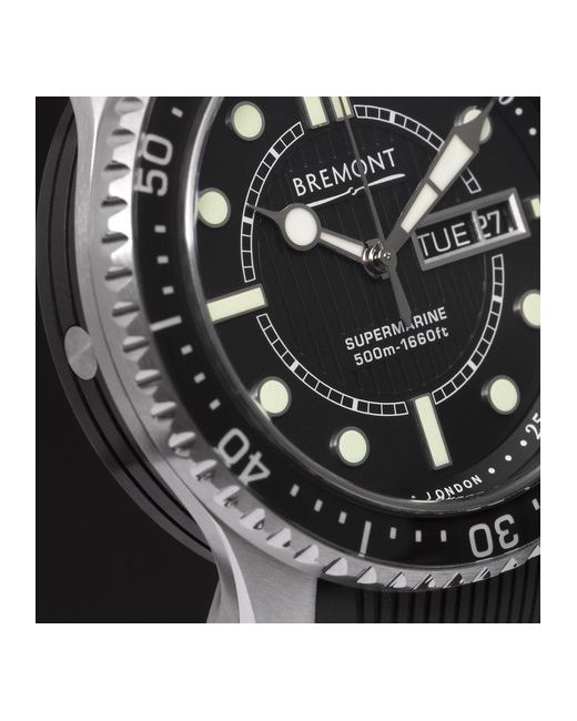 Bremont   Чёрный S500 Supermarine Automatic Watch