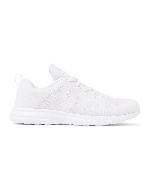 APL Athletic Propulsion Labs | Белый Techloom Pro Cashmere-Blend Sneakers