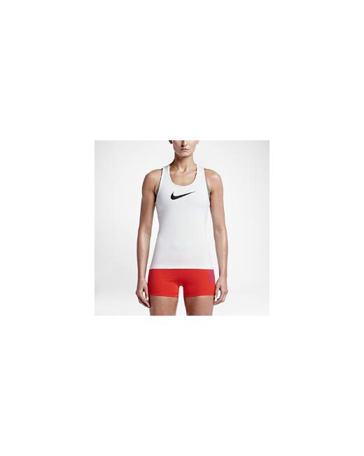 Nike | Женская Белая Майка Для Тренинга Pro