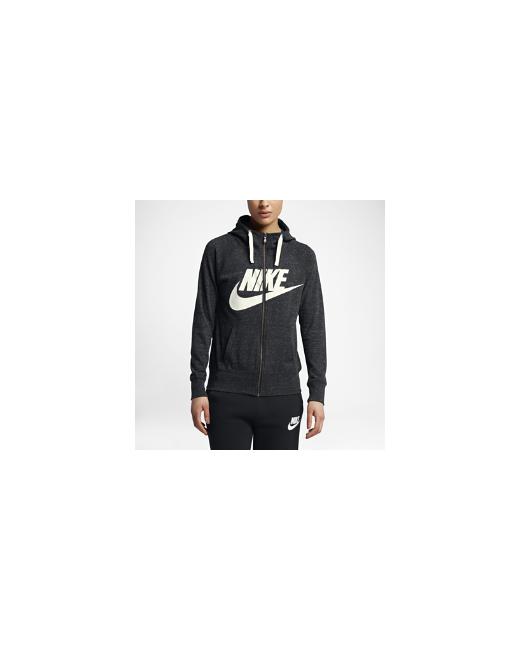 Nike | Женские Чёрные Худи Sportswear
