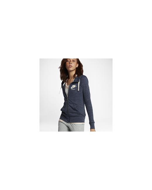 Nike | Женские Синие Худи Sportswear Gym Vintage