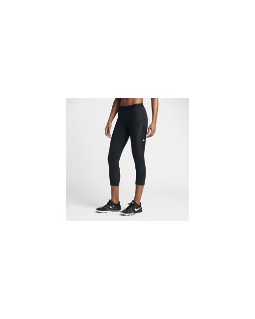 Nike | Женское Чёрное Капри Для Тренинга Pro Hypercool
