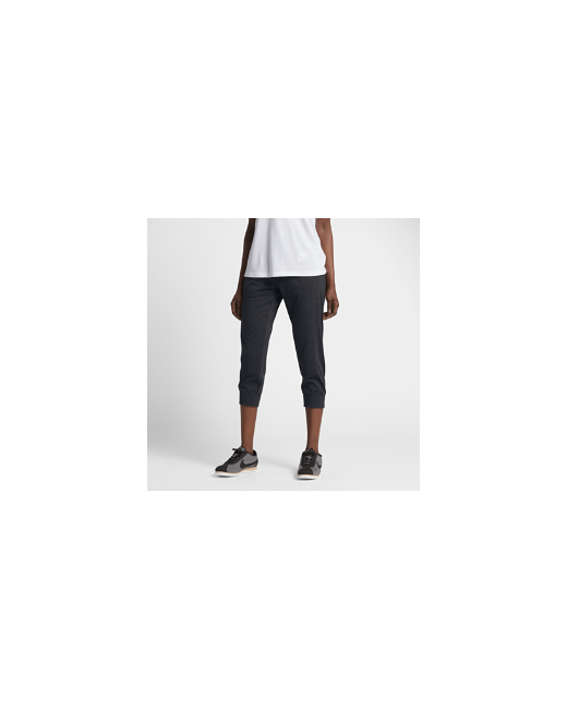 Nike   Женское Серое Капри Sportswear Gym
