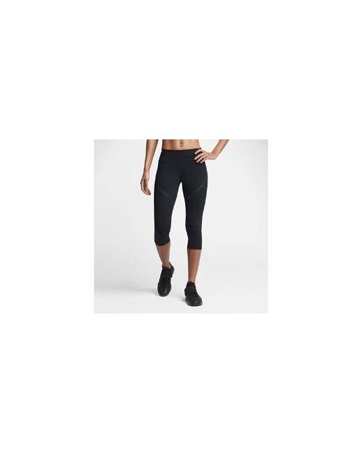 Nike | Женское Чёрное Капри Для Тренинга Power Legendary