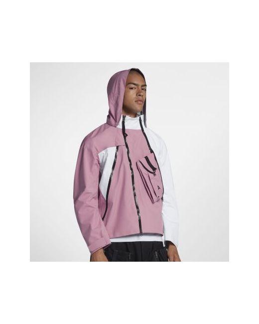 a2abeb35 Мужская Розовая Куртка Nikelab Acg Gore-Tex Deploy Nike 00887230693611