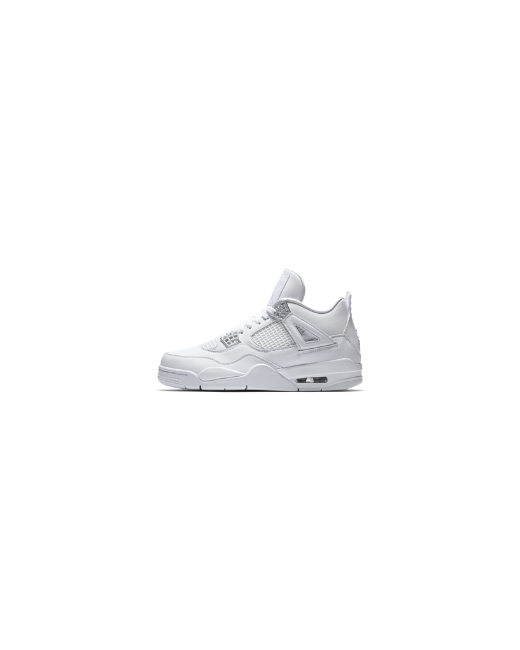 Nike | Мужские Белые Кроссовки Air Jordan 4 Retro