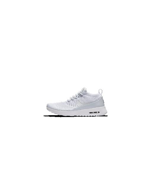 Nike   Женские Серебристые Кроссовки Air Max Thea Flyknit