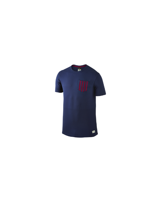 Nike   Мужская Футболка Fc Barcelona Authentic Sideline