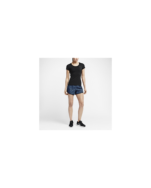 Nike | Женская Футболка Для Бега Dri-Fit Contour Short-Sleeve