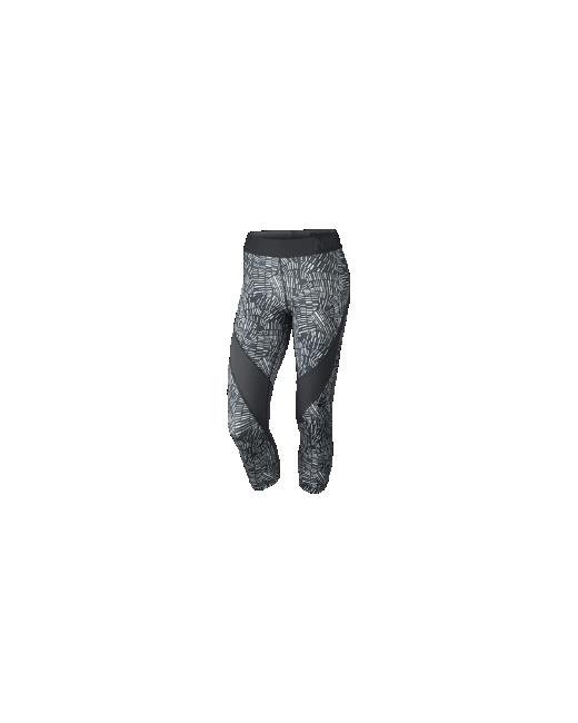 Nike   Женские Тренировочные Капри Pro Hypercool Tidal Multi