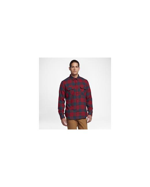 Nike | Мужская Красная Рубашка С Длинным Рукавом Hurley Dry Cora