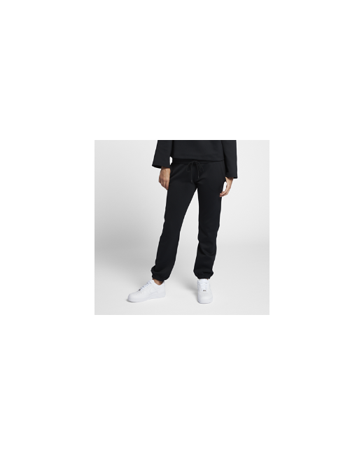 Nike   Женские Чёрные Брюки Nikelab Essentials Fleece