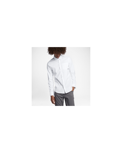 Nike | Мужская Белая Рубашка С Длинным Рукавом Sb Flex