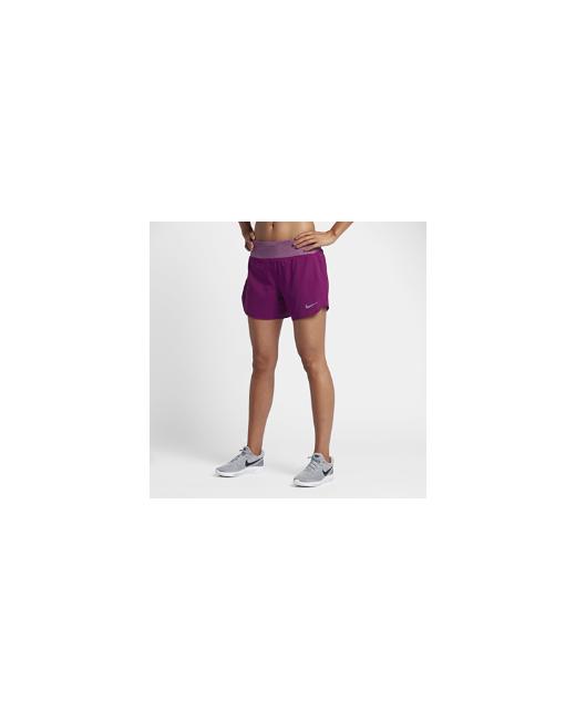 Nike | Женские Фиолетовые Беговые Шорты Flex 125 См