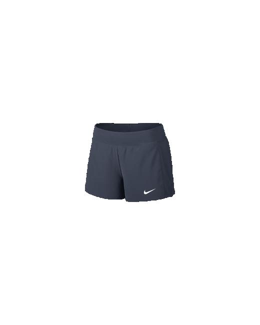 Nike   Женские Синие Теннисные Шорты Nikecourt Flex Pure