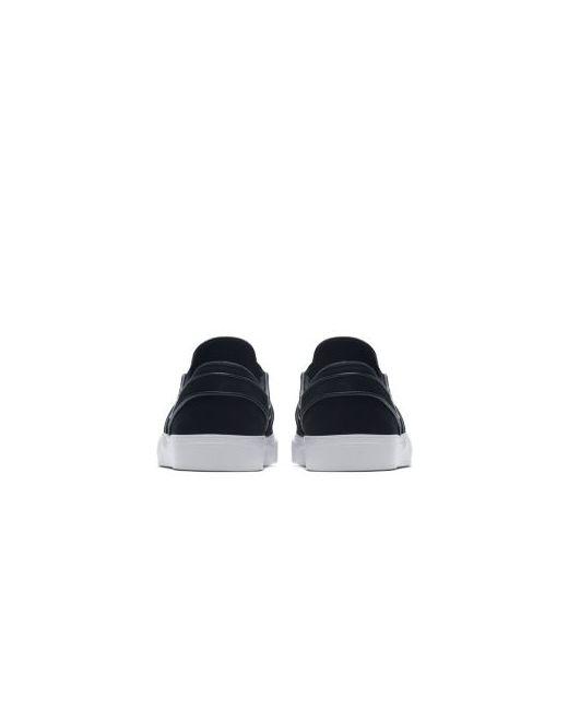 7c4ae438 Nike - Мужская Чёрная Обувь Для Скейтбординга Sb Zoom Stefan Janoski Slip-On