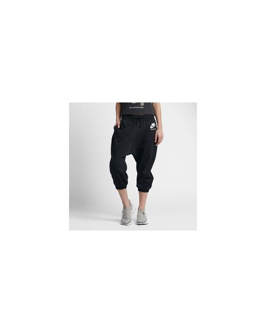 Nike | Женское Чёрное Капри International